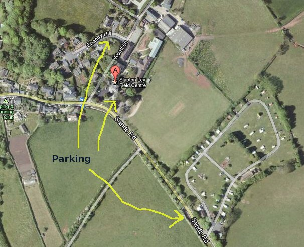 parking map for slapton ley